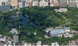 水と緑が鮮やかな都市公園