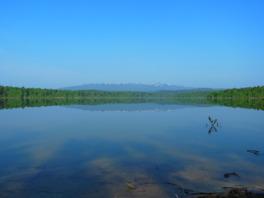 道立自然公園朱鞠内湖