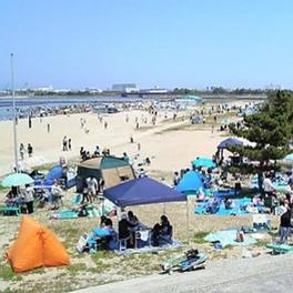 日本の白砂青松100選にも選ばれた美しいビーチ