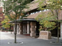 東北福祉大学のキャンパス内にある美術工芸館