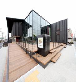 建築誌でも紹介される建物は斬新で目を引く