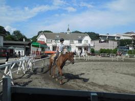 都内で唯一の野外コースで乗馬体験を楽しもう