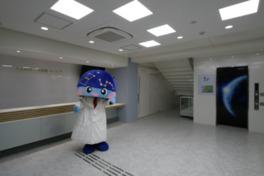 人と科学の未来館サイピアのマスコットキャラクターのサイピィ