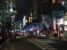 第11回新宿歌舞伎町区役所通りイルミネーション