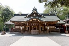 1885(明治18)年に完成した拝殿は1978(昭和53)年に改修された