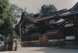 社殿は江戸時代の建築で1971(昭和46)年に修復
