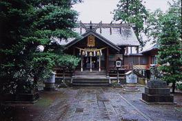神社では榊原代々の武具も保管している