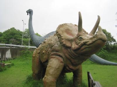 和歌山市 公園 恐竜