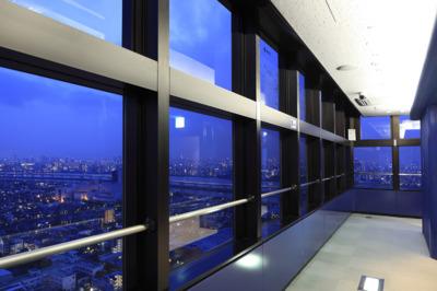 タワーホール船堀 展望室