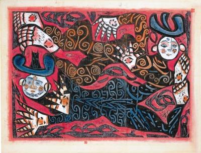 青森県立美術館開館10周年記念「オドロイテモ、おどろききれない 森羅万象:棟方志功とその時代」展
