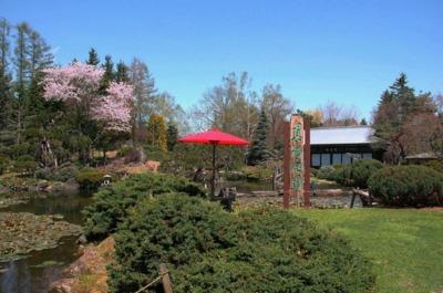 真鍋庭園開園