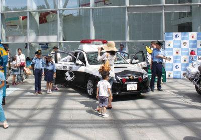 警察フェスタin三沢航空科学館