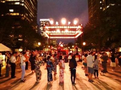 東京丸の内盆踊り2017