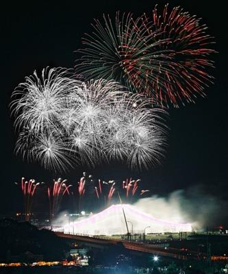 全国花火名人選抜競技大会 ふくろい遠州の花火2014