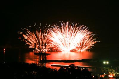 第60回 もんべつ観光港まつり オホーツク花火の祭典