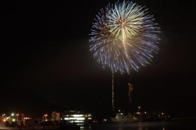 トライアスロン伊良湖大会前夜祭 花火大会