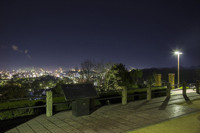 展望スペースから姫路市内を望む