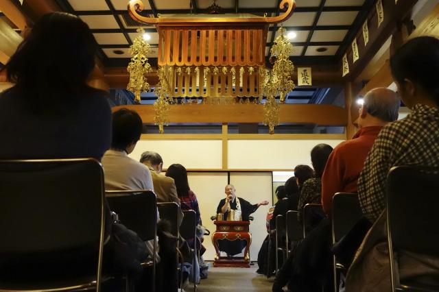 万松寺の仏教勉強会「葬儀から四十九日まで」