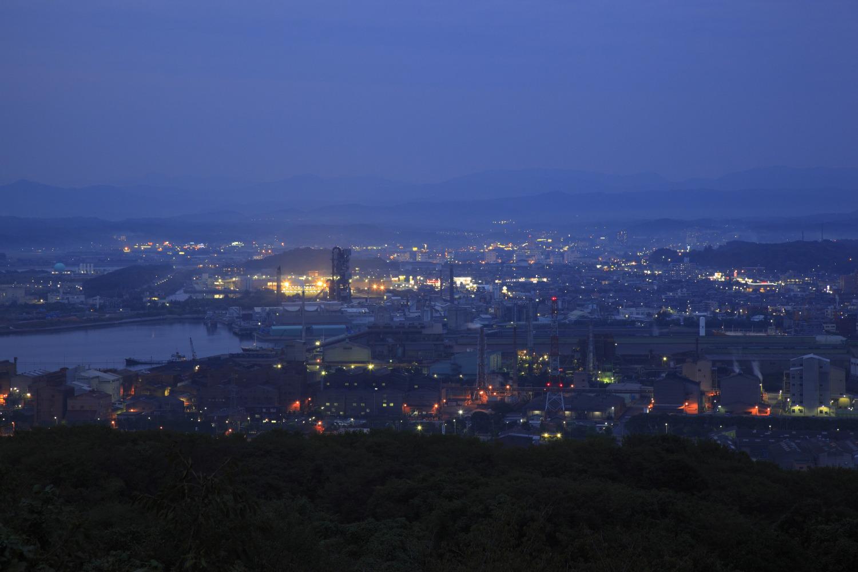 美しい夜景から日本夜景遺産にも認定された