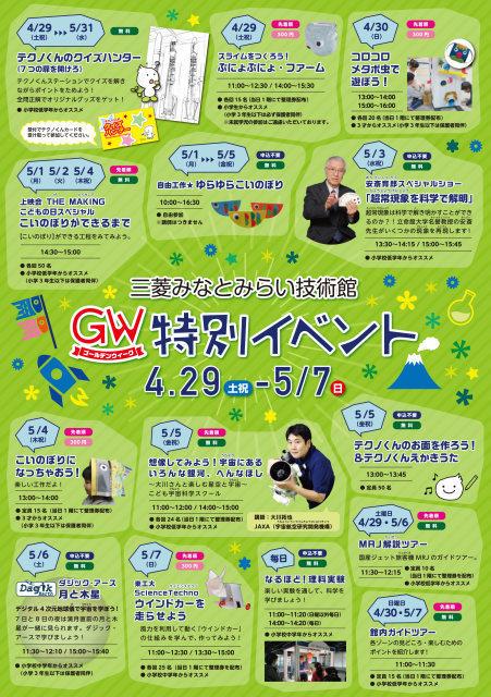 2017GW特別イベント 三菱みなとみらい技術館