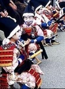 礒崎神社 磯武者行列