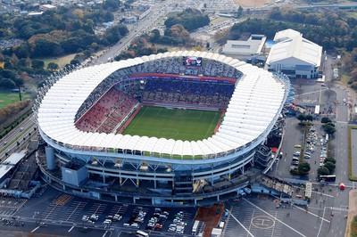 「茨木県立カシマサッカースタジアム」の画像検索結果
