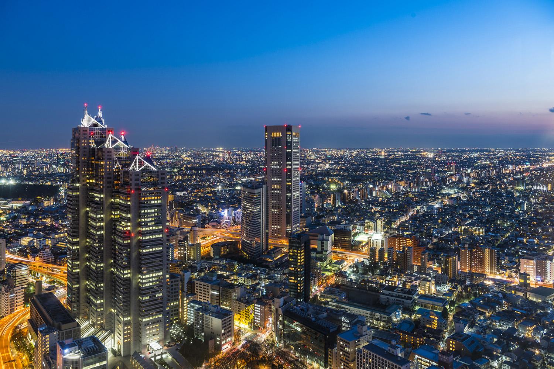 東京都庁 | 夜景時間 Yakei hours - ウォーカープラス